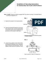 Pozitioner analogic AVID