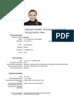 Ana Luca CV for USA
