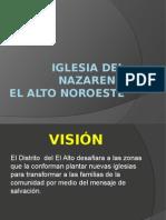 Presentación Distrito El Alto Noroeste Plantación de Iglesias