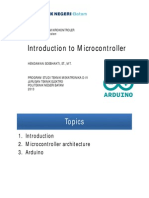1. Introduction to Microcontroller