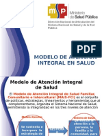 Modelo Atencion Integral Salud