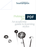 Academic Guide - Picking Your Profile