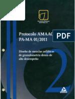 Protocolo Amaac Pa-ma 01-2011