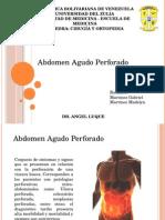 Abdomen Perforativo