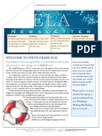 ela newsletter 14-15