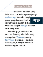 Melancong Ke Sabah-petikan n Soalan Pmhaman