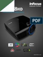 InFocus IN3138HD 1080P Projector-Datasheet