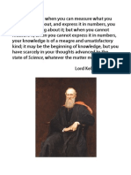 Lord Kelvin Quote