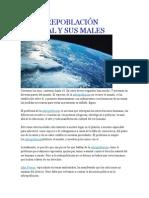 La Sobrepoblación Mundial y Sus Males