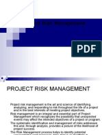 IPM - 4 Week Project Risk Mng