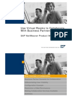 Use of Virtual Rooms to Collaborate With Business Partners