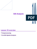Chapter 10 - GIS Analysis