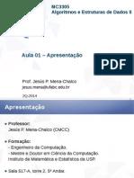 Algoritmos e Estruturas de Dados II - Apostila I