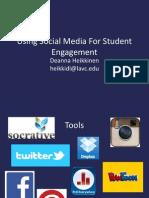 Social Media for Student Engagement FTLA
