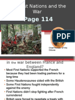 chapter 5 first nations and the war