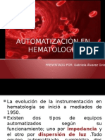 Automatización en Hematología