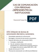 Técnicas de Comunicación Con Personas Dependientes en Instituciones (31 Mayo)