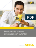 Medicion de Presion Diferencial Con VEGADIF
