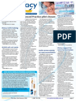 Pharmacy Daily for Thu 22 Jan 2015 - Advanced Practice pilot chosen, PSA vax guidelines, Phmcy support for name harmonisation, Better detection for AF 'epidemic', and much more
