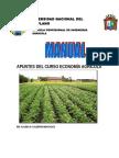 Apuntes de economía agricola