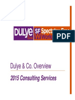 Dulye & Co. 2015 Overview Final