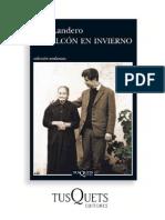 Balcon en Invierno Landero Lecturas