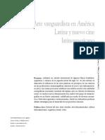 Arte Vanguardista en América Latina y Nuevo Cine Latinoamericano