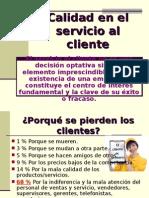 Calidad Servicio Al Cliente JM