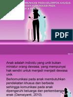 teknik komunikasi pada anak dan remaja
