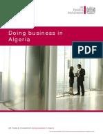 Doing Business in Algeria 2013