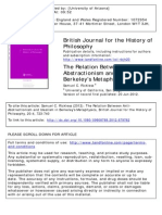 British Journal for the History of Philosophy Volume 20 Issue 4 2012 [Doi 10.1080%2F09608788.2012.679782] Rickless, Samuel C. -- The Relation Between Anti-Abstractionism and Idealism in Berkeley's Metaphysics