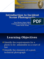 Intro to Incident Scene and Technical Photography Revised 12-01-09