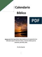 El Calendario Biblico