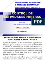 Control Deactividades Mineras Ut2a