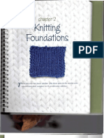 Ch 2 Knitting Foundations 11 to 17