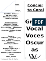 Programa Voces Oscuras 11-12-2014