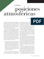 Josep Navarro Vives. Composiciones Atmosféricas