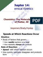 Brdy 6Ed Ch14 ChemicalKinetics
