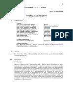 Consejo Académico - 17 Noviembre de 2014