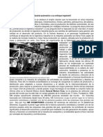Industria Automotriz y Su Enfoque Ingenieril