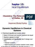 Brdy 6Ed Ch15 ChemicalEquilibrium