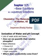 Brdy 6Ed Ch17 AcidBaseEquilibria