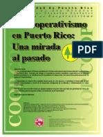 Cooperativismo en Puerto Rico - Una Mirada Al Pasado