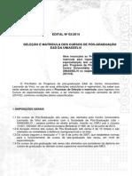 Edital 2014 2 Pos EAD-2