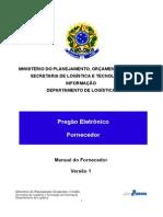 Manual Pregao Fornecedor