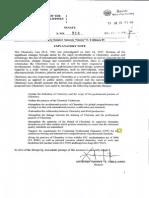 SB 914 Revised Chem Law Trillanes