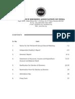 IBAI Annual Report 2014