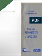 Ideas Para Reconstruir a Venezuela