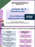 Planificacion Educacion Inicial 2012-1