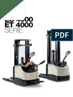 Apilador Es Et4000 Catalogo Es